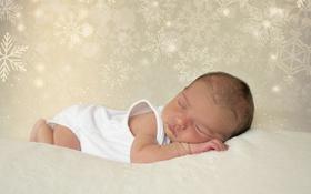 Обои уют, сон, младенец