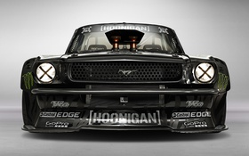 Картинка Mustang, Ford, Front, 1965, RTR, Monster Energy, Block