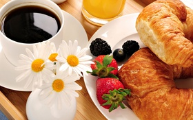 Обои food, breakfast, caffe