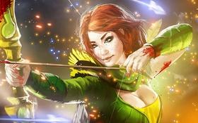 Картинка Art, Valve, Online, Game, Dota 2, Windrunner