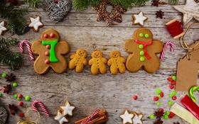 Обои еда, Новый Год, печенье, Рождество, christmas, Christmas, food