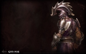 Обои wallpaper, game, armor, god of war, sony, ps3, man