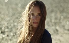 Обои волосы, ветер, девушка