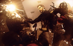 Картинка Deus Ex: Human Revolution, square enix, deus ex, cyborg, adam jensen
