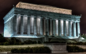Обои United States, Lincoln Memoria, Washington, District of Columbia