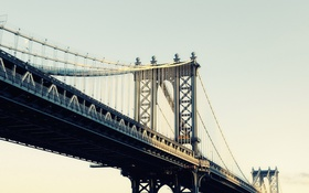 Картинка Bridge, Golden, Manhatten