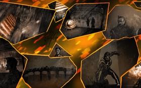 Обои Square Enix, art, Deus Ex: Human Revolution, adam jensen, Eidos Montreal