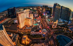 Обои закат, Лас-Вегас, США