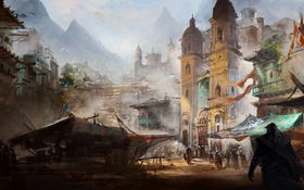 Обои Эдвард Кенуэй, пират, ассасин, Assassin's Creed IV: Black Flag