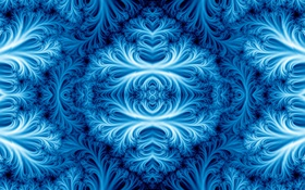Обои свет, узор, цвет, фрактал, симметрия