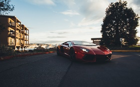 Обои Lamborghini, Car, Auto, Aventador, Italian