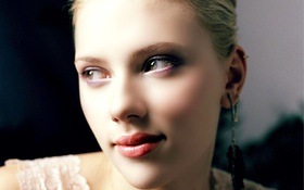 Обои scarlett johansson, лицо, актриса, взгляд, блондинка