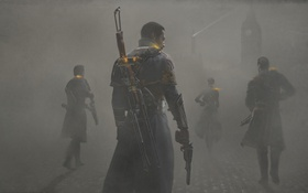 Обои Playstation 4, Стимпанк, The Order 1886, Steampunk, Лондон, туман, London
