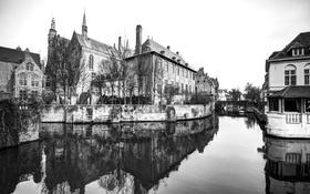 Обои вода, city, город, отражение, река, фотограф, photography