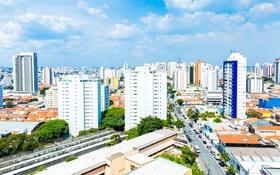 Обои Мегаполис, фото, Город, Дома, San Paulo, Бразилия
