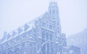 Обои «Джонсон», Снегопад, Нью-Йорк, зима