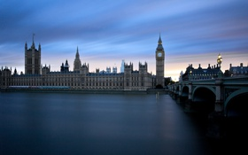 Обои London, Thames, Big Ben, Westminster