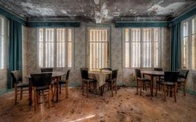 Картинка стулья, столы, ресторан