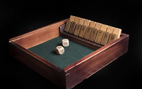 Обои dice, numbers, board game, Shut the Box