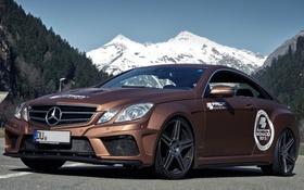 Обои Mercedes, мерседес, Black Edition, 2013, Widebody, Prior-Design, C207
