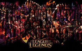 Обои creatures, characters, League of Legends, black