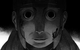 Картинка лицо, naruto, anime, Yamato, шиноби