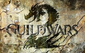 Обои фон, игра, Guild Wars, дракон