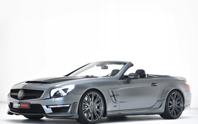 Обои Mercedes, R231, 2013, мерседес, брабус, Roadster, Brabus 800