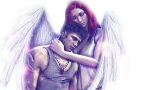 Обои Dante, angel, Devil May Cry, mother