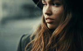 Картинка взгляд, шляпа, Catalina Koe