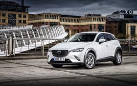 Обои Mazda, мазда, UK-spec, паркетник, 2015, CX-3