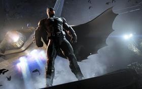 Картинка плащ, Batman, DC Comics, Warner Bros. Games Montreal, Batman: Arkham Origins