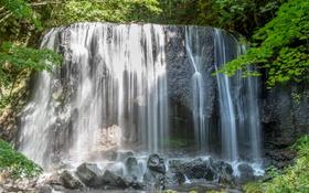 Обои вода, природа, поток, Водопад