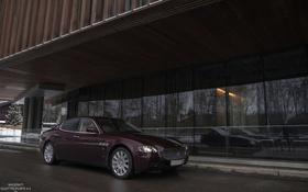 Обои машина, Maserati, Quattroporte, фотограф, перед, auto, photography