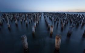 Обои Melbourne, Australia, pier