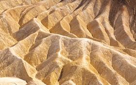 Обои горы, пустыня, Калифорния, США, долина смерти, Zabriskie point