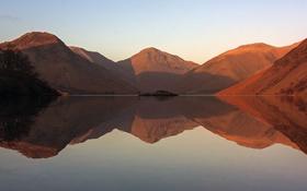 Обои горы, отражение, холмы, водоем, photo, photographer, Greg Stevenson
