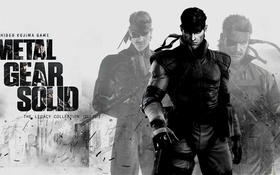 Картинка metal gear solid, KONAMI, kojima productions, solid snake, big boss naked snake, legacy collection, Hideo ...