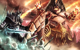 Картинка World of Warcraft, Lich King, Warcraft, Blizzard, Diablo, Arthas Menethil, Heroes of the Storm