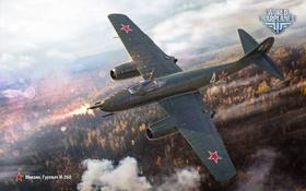 Обои И-260, многоцелевой, WoWp, World of Warplanes, Гуревич, Wargaming, истребитель