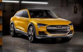 Обои Audi, ауди, concept, концепт, quattro, h-tron