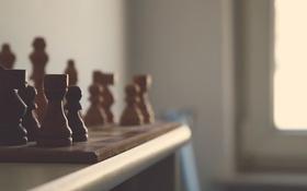 Обои игра, шахматы, фигуры