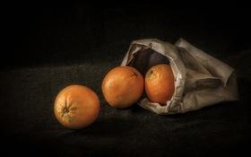 Обои фон, апельсины, фрукты