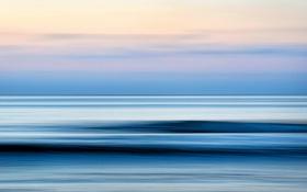 Картинка море, небо, цвет