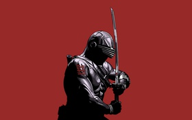 Обои меч, ниндзя, ninja, Бросок кобры, G.I. Joe: The Rise of Cobra