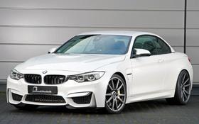Картинка белый, бмв, BMW, кабриолет, Cabrio, F83, B&B
