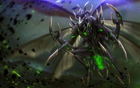 Обои hon, art, Heroes of Newerth, moba, Lord Pestilence, Pestilence