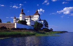 Обои mar, construcción, Europa, castillo