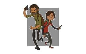 Обои Время Приключений, PlayStation, Naughty Dog, Джоэл, Элли, The Last of Us, Пора Приключений