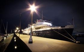 Картинка корабль, пристань, Chicago, Monroe Harbor